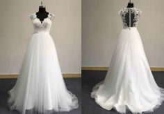 Plus size wedding dresses with cap sleeves can be customized at Darius Cordell Couture. We can also make inexpensive #replicas of designer dresses too!