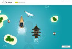 Pirata design & web/app development firm website