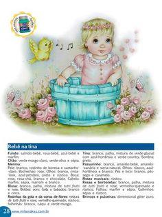 Revista Mila Makes Pintura 1  A revista para quem ama pintura em tecido!