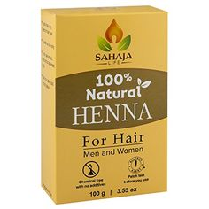 Pure Henna Hair Dye Powder (3.5 Oz) | All Natural, High Pigment Color for Hair, Root Touch Up, Beard