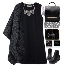 """""""emptiness /// NewChic Style"""" by scarlett-morwenna ❤ liked on Polyvore featuring vintage"""