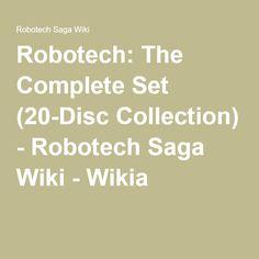 Robotech: The Complete Set (20-Disc Collection) - Robotech Saga Wiki - Wikia