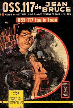 OSS117 by Jean Bruce