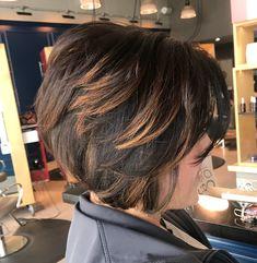 Medium Stacked Haircuts, Angled Bob Haircuts, Stacked Bob Hairstyles, Short Layered Haircuts, Medium Hairstyles, Curly Hairstyles, Wedding Hairstyles, Short Stacked Wedge Haircut, Short Stacked Bobs