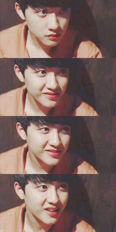 D.O is so adorable. I just wanna pinch his cheeks