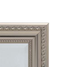 H Framed Recessed Or Surface Mount Bathroom Medicine Cabinet With Deco Door In Brushed Nickel