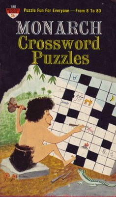 Caveman Chisels A Crossword Cover Art That Time Forgot