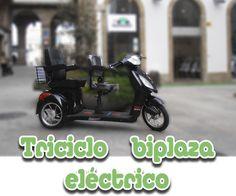 """Ecobitel """"DÚO"""" triciclo biplaza"""