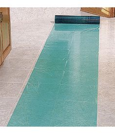 Self Adhesive Floor Plastic Is Perfect To Protect Tile