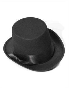 0ec8210cc34 New Deluxe Black Magician Butler Formal Costume Bell Topper Top Hat