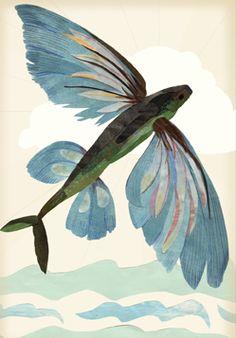 . Underwater Drawing, Underwater Animals, Pelican Tattoo, Fish Drawings, Tattoo Drawings, Fish Design, Boat Design, Sea Tattoo, Kids Watercolor
