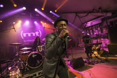 SXSW Music Day One: Aloe Blacc performs during SXSW 2014 at Stubbs at the Def Jam showcase Tuesday, March 11, 2014.