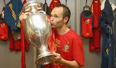 Andres Iniesta.  What a stud!