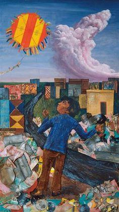 Juanito Laguna y Antonio Berni Social Realism, European Paintings, Art Database, Cubism, Mixed Media Art, Art Boards, Illustration, Artwork, Instagram