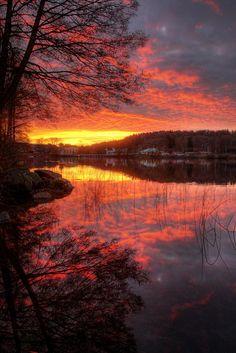 Swedish Sunset.