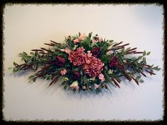 Wall Swag, Floral Swag, Flower Swag, Hydrangea Swag, Home Decor Swag, Flower Spray, Swags By Sugar Creek Home Decor