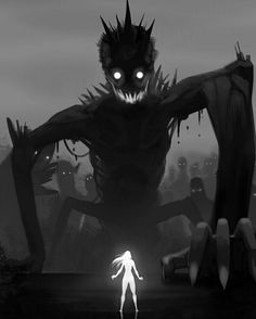 Dark Fantasy is the Best Fantasy Arte Horror, Horror Art, Dark Fantasy, Fantasy Art, Art Manga, Anime Art, Character Inspiration, Character Art, Arte Obscura