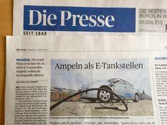 Wien: Ampel als E-Tankstellen? Die Presse Filling Station