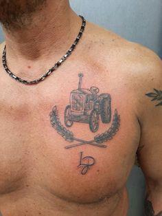 #mta #trattore #tractor #tattoo #tatuaggio #stile #giampi #italy #mtatattoo