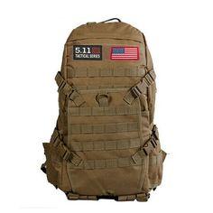 Outdoor Sports Small Mini Backpack Camping Military Tactical Rucksack Molle Shoulder Bags Waterproof Assault Sling Bag Xa411wa Climbing Bags