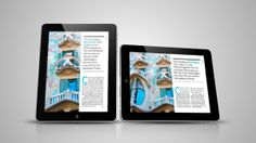 TabletMag - digital magazine for iPad by Michael Korecki, via Behance
