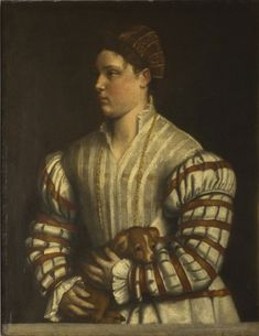 c. 1530 Portrait of Eleonora Averoldi Moretto da Brescia (Alessandro Bonvicino), Italian (active Brescia), c. 1498 - 1554 Philadelphia Museum of Art - Collections Object : Portrait of Eleonora Averoldi