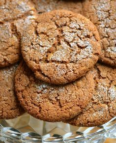 Low FODMAP Recipe and Gluten Free Recipe - Ginger Cookies http://www.ibssano.com/low_fodmap_desserts_ginger_cookies.html