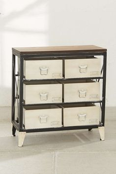 Mini Industrial Storage Dresser - Urban Outfitters $169