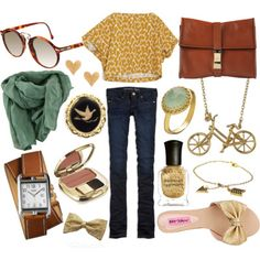 i want that watch.. and scarf.. and bag.. oh just all of it.