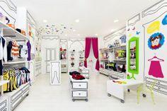 local de ropa para niños...