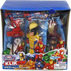 Marvel Heroes Klik (Display)