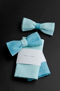 mint and tiffany blue bow ties, APRIL LOOK