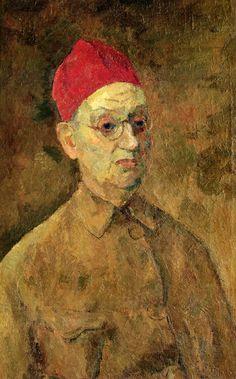 Фальк Р.Р. – В красной феске (автопортрет). 1957