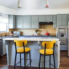 Affordable retro kitchen makeover