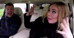 "Adele Raps Nicki Minaj's ""Monster"" & Sings...: Adele Raps Nicki Minaj's ""Monster"" & Sings Hits on Carpool Karaoke #AdeleCarpoolKaraoke…"