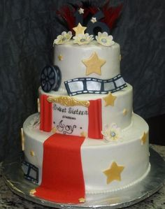 Oscars Movie Premiere Cake Ideas
