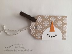Holiday Extravaganza Projects 11 :: Confessions of a Stamping Addict Lorri Heiling Christmas Tags Stampin' Up