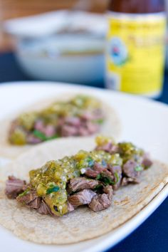 Surely Hatch Roasted Chiles can be used in place of Seranno?Carne Asada Tacos