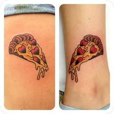 pizza tattoos - Google Search
