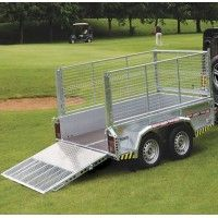 CLH - Livestock Trailer with Canopy x Livestock Trailers, Atv Trailers, Car Trailer, Brian James, Side Gates, Wheels And Tires, Canopy, Construction, Cars