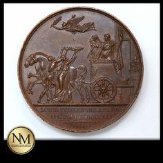 #Bronze #Medal Louis XVIII, Entrée du Roi dans Paris #forsale on +Kollectbox  www.kollectbox.com - #Marketplace for #Collectors  #medals