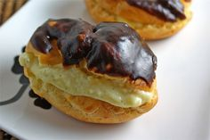 Chocolate Eclairs By Closet Cooking -- see more at LuxeFinds.com