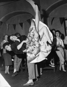 Dance Hall, 1958 #people