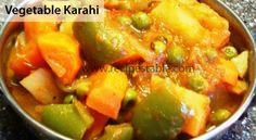 Vegetable Karahi Recipe - Recipes Table