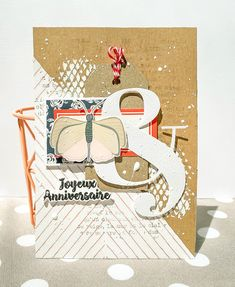 Mini Albums, Version Scrap, Scrapbooking, Kit, Home And Deco, Birthday, Cards, Graph Paper, Birthdays