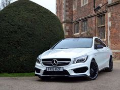 Used 2015 (15 reg) Cirrus White Mercedes-Benz Cla Class CLA 45 4Matic 4dr Tip Auto [Comand] for sale on RAC Cars