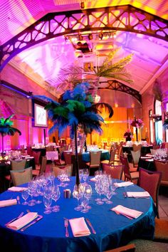 Bronx Zoo Wedding Reception
