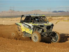 WORCS Round 2 at Buffalo Bills, in Primm, Nevada, would see Polaris RZRs sweep the SxS Pro Podium with David Haagsma taking the checkered flag in his Polaris RZR and Polaris Factory Racers Mitch Guthrie Jr. and Beau Baron taking second and third