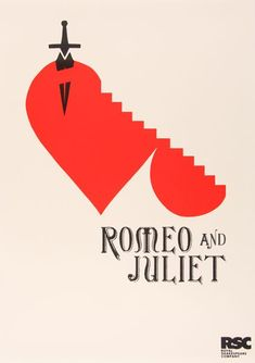 'Romeo and Juliet' Shakespeare poster for RSC