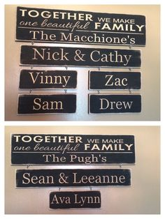 Personalized Carved Wooden Sign Together We Make by HayleesCloset